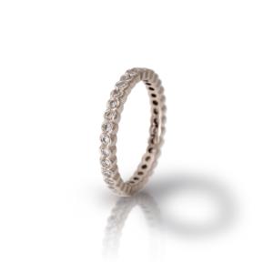White Gold Diamond Eternity Band Model RG94 - Scarab Jewellery Studio